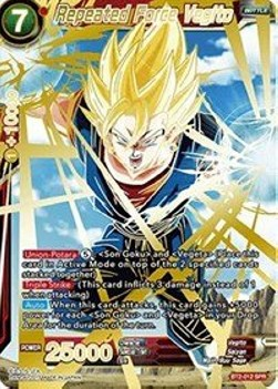 Repeated Force Vegito (Version 2 - Special Rare)