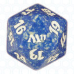 Dado D20 de Magic 2011 azul