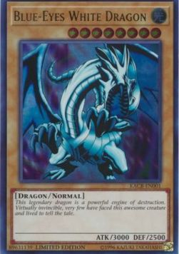 Blue-Eyes White Dragon (Version 1 - Ultra Rare)