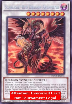 Scarlight Red Dragon Archfiend (V.4 - Oversized)