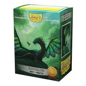 100 Dragon Shield Sleeves - Rayalda