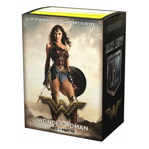 100 Dragon Shield Sleeves - Wonder Woman