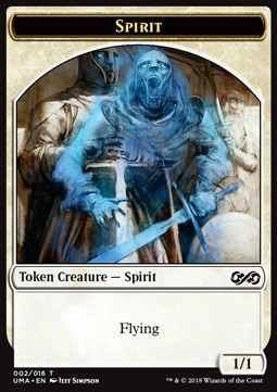 Spirit Token (White 1/1)