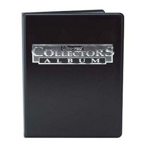 Ultra Pro Collectors Portfolio - 9-Pocket Black (2016 Version)