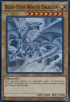 Blauäugiger w. Drache (Version 4 - Ultra Rare)