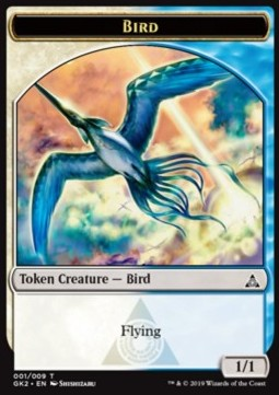 Bird Token (WU 1/1) // Sphinx Token (WU 4/4)