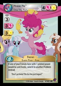 Pinkie Pie *One Filly Party*