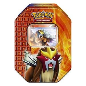 2010 Fall Collector's Tins: Pokebox Entei