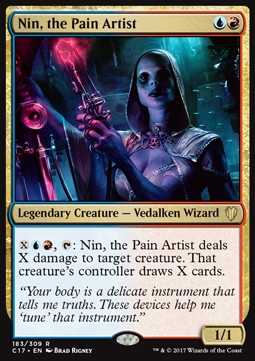 Nin, the Pain Artist