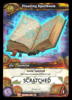 Floating Spellbook (Scratched Loot)