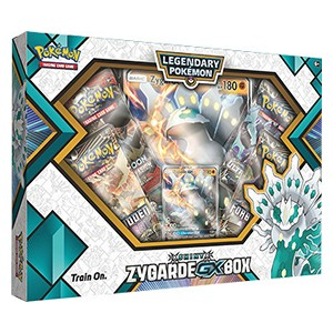 Shiny Zygarde GX Box