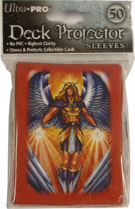 "Artist Gallery: 50 ""Monte Moore - Angel Red"" Deck Protector Sleeves"