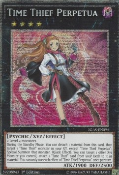 Time Thief Perpetua (Version 2 - Starlight Rare)