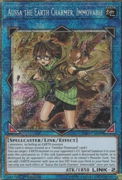 Aussa the Earth Charmer, Immovable (Version 2 - Starlight Rare)
