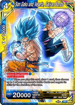 Son Goku and Vegeta, Saiyan Bonds